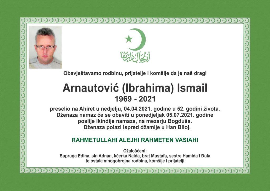 Preminuo Ismail Arnautović