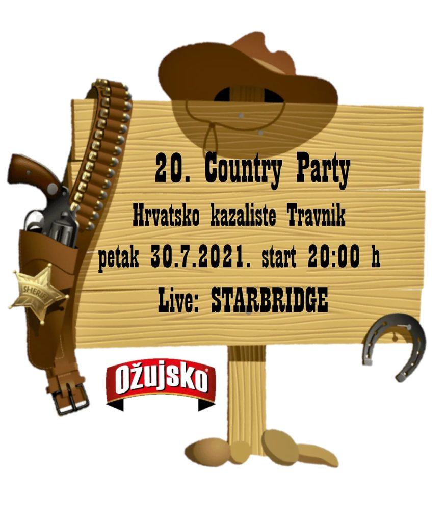 Najzabavniji i najluđi party do sada / Večeras u Travniku 20. Country party