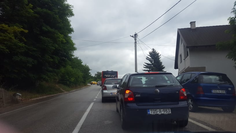 Travnik/ Saobraćajna nezgoda na Gornjem Putićevu