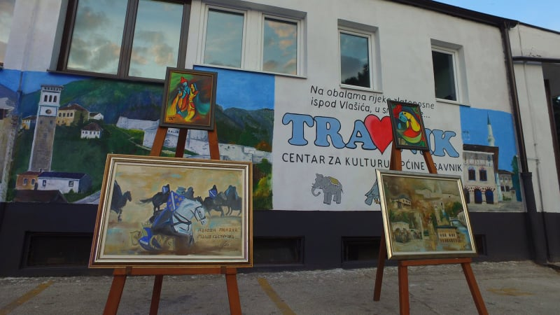 Travničke večeri/ Svečano otvorena Ljetna scena Centra za kulturu općine Travnik