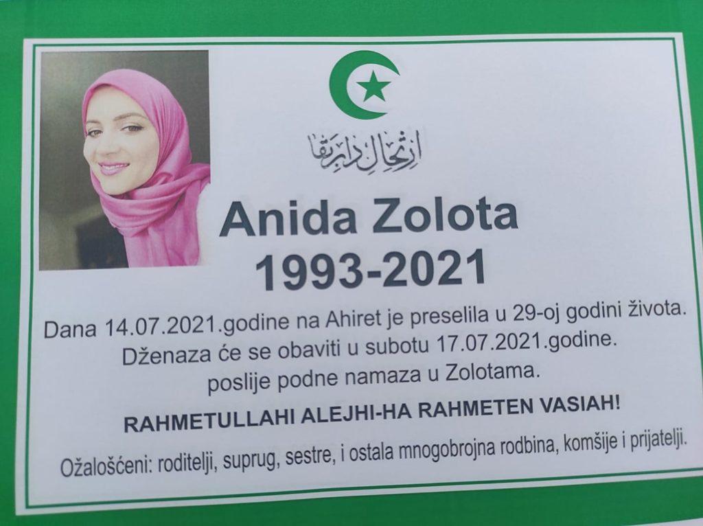 Preminula Anida Zolota