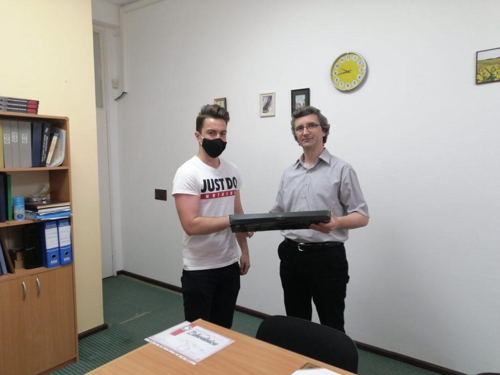 (FOTO) Edin Grabus, još jedan talenat iz Travnika