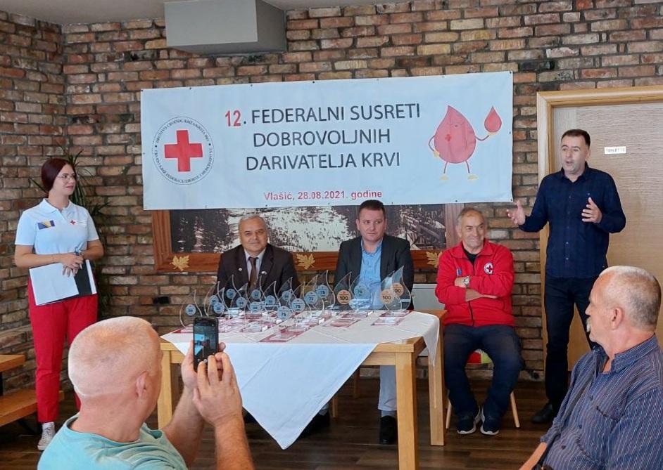 Vlašić/ Dobrovoljni davaoci krvi FBiH