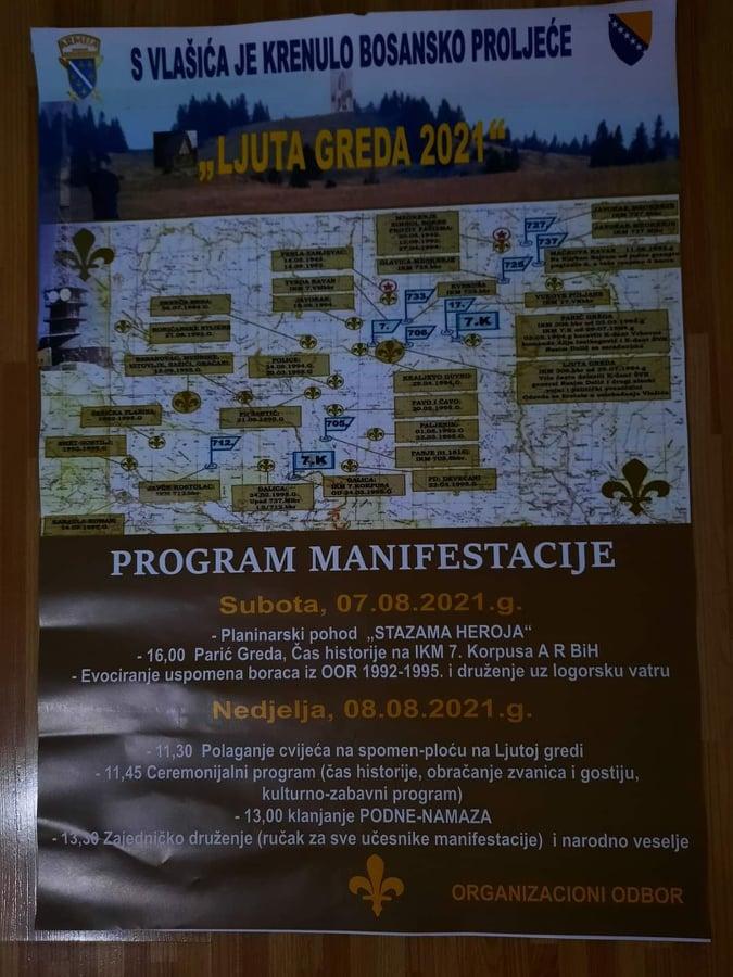 Na Vlašiću za vikend manifestacija 'Ljuta greda 2021'