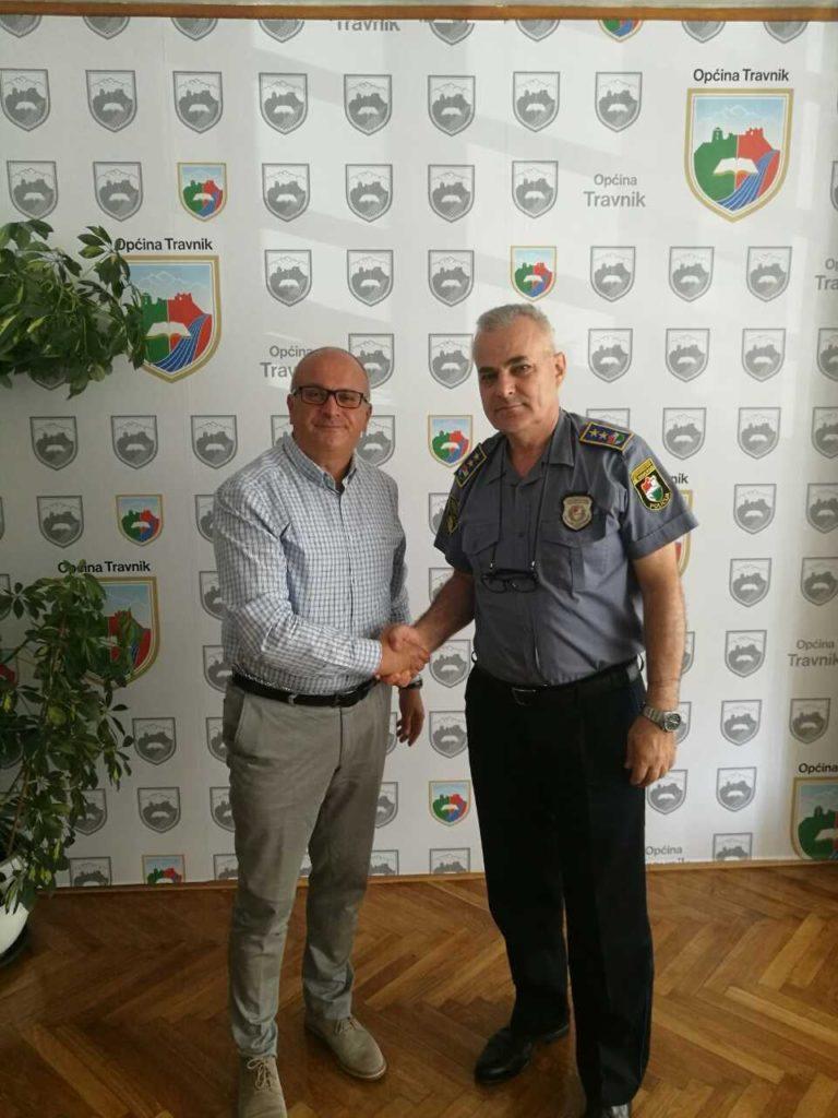 Načelnik Dautović održao sastanak sa komesarom Adilovićem