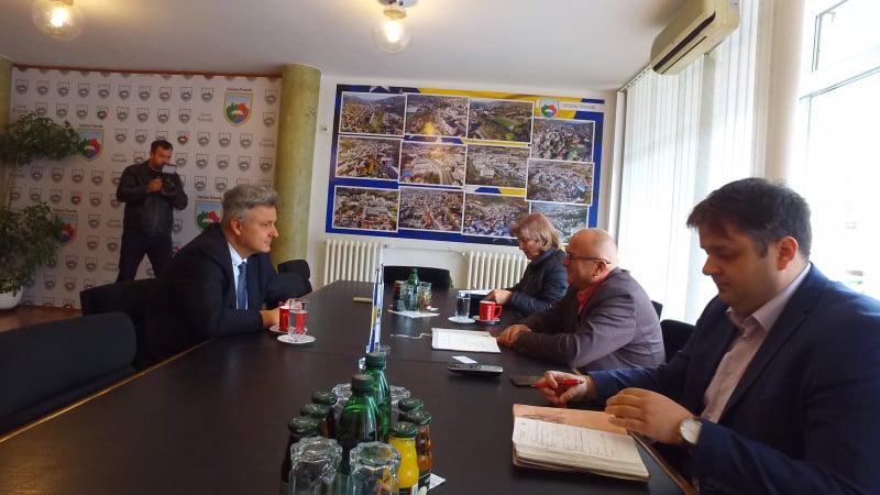(FOTO) Federalni ministar trgovine u službenoj posjeti Općini Travnik