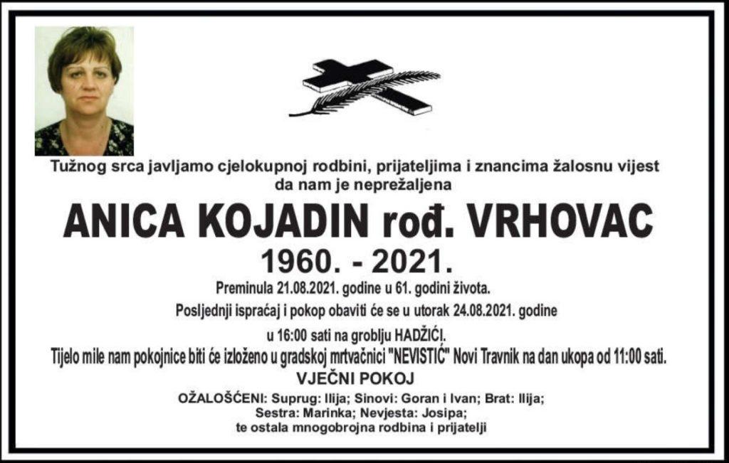 Preminula Anica Kojadin