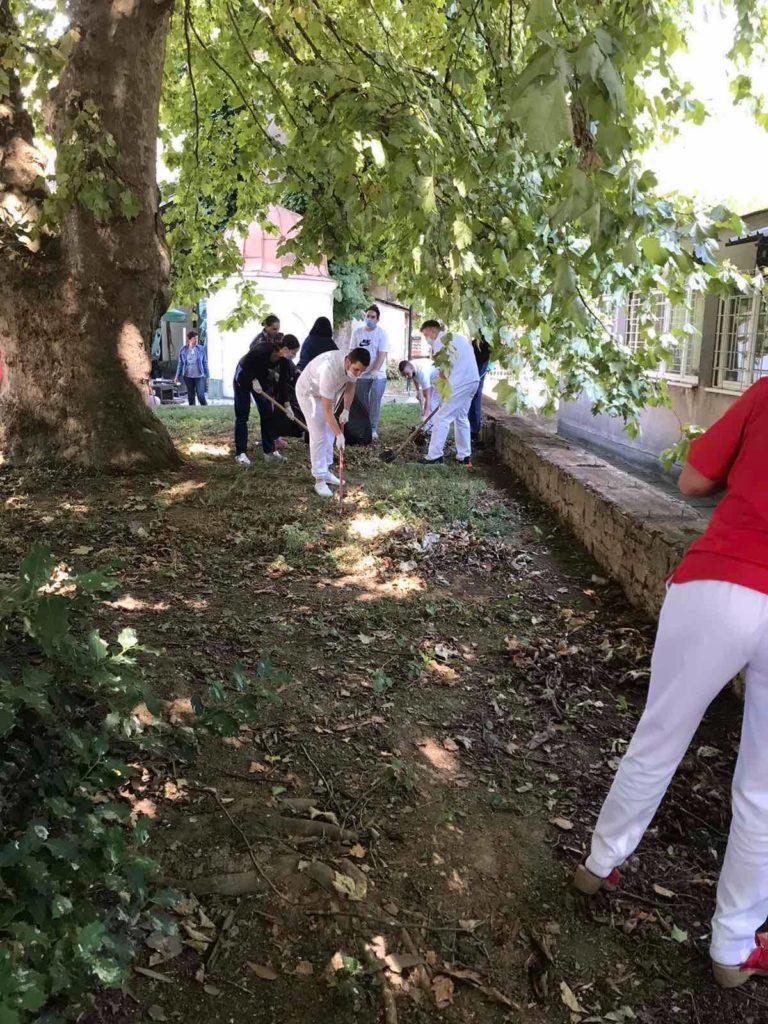 """(FOTO) Uposlenici JU Dom zdravlja Travnik priključili se akciji """"Sedmica društvene odgovornosti"""""""