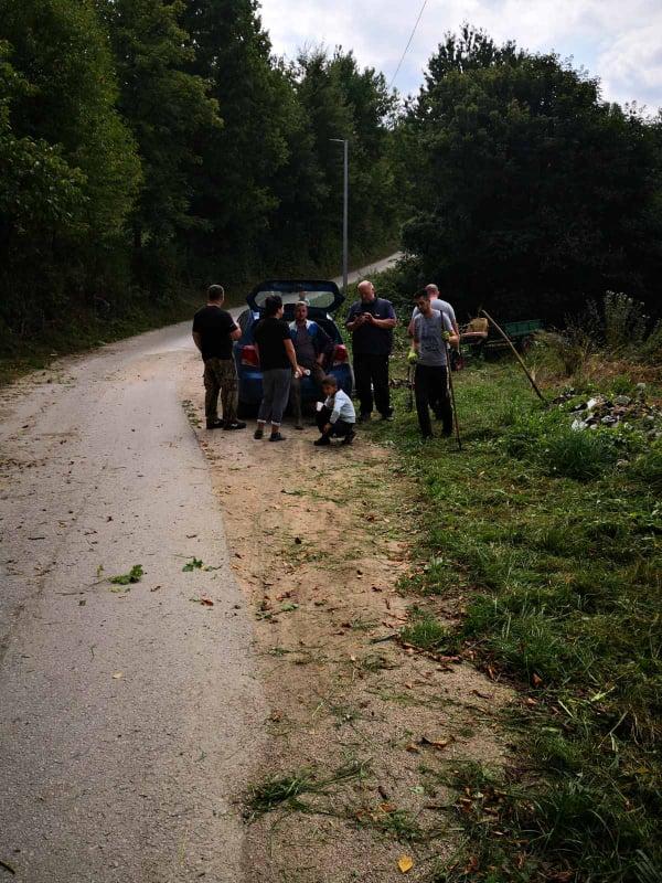 (FOTO) Realizovana i treća akcija čišćenja u Mjesnoj zajednici Turbe