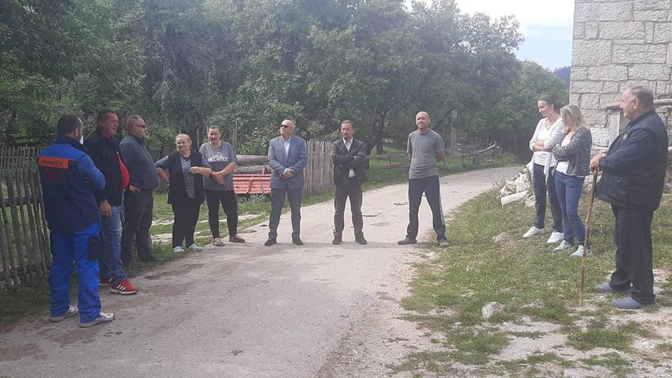 Načelnik Dautović i paroh Živković u Donjoj Šišavi