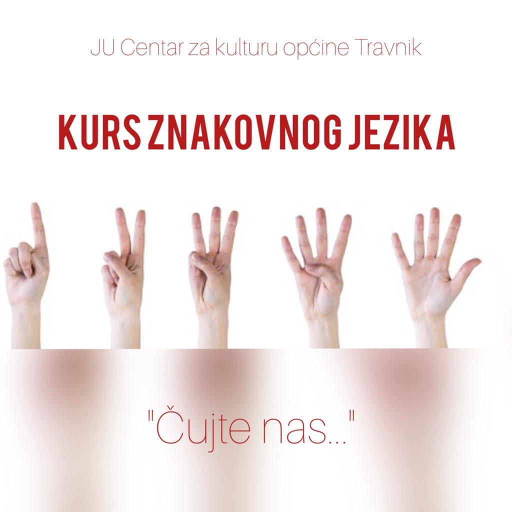 Kurs znakovnog jezika u Travniku