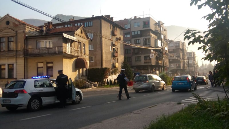 (FOTO) Saobraćajna nezogda u Travniku