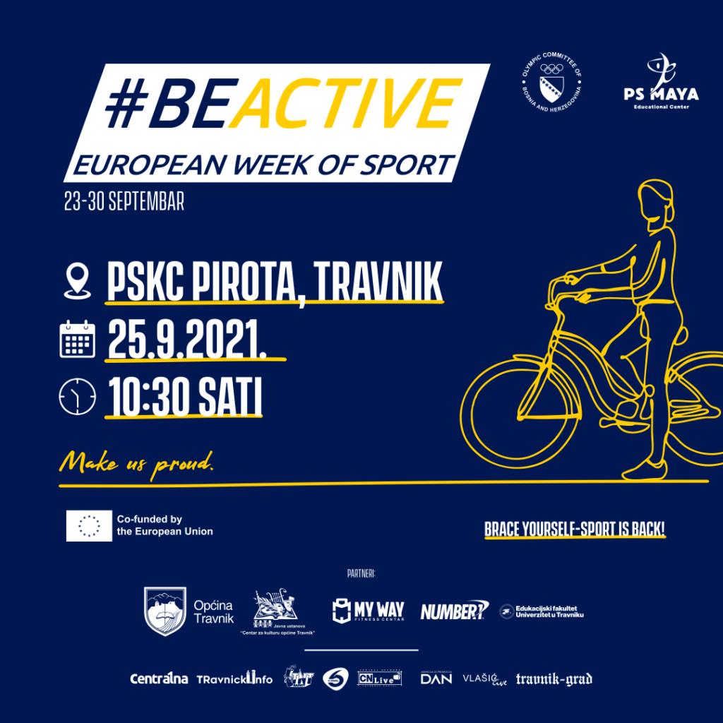 "U subotu u Travniku prvi ""Be active day"""