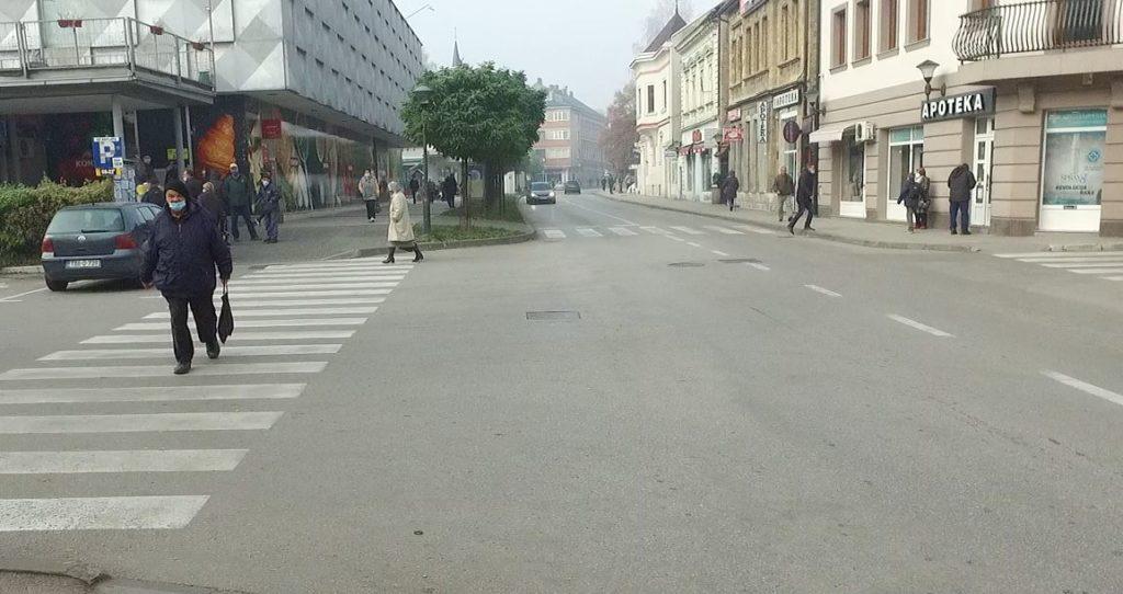 Travnički korzo / Sutra press povodom otvaranja Bosanske ulice za pješake