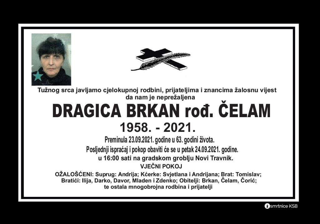 Preminula Dragica Brkan