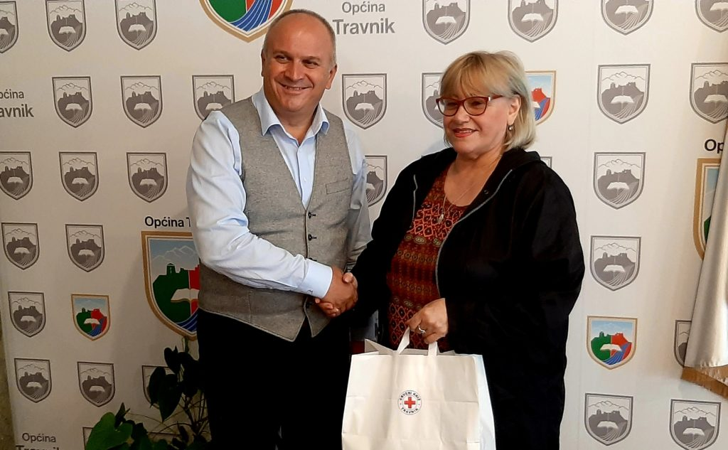 Načelnik Općine Travnik počasni član Crvenog križa