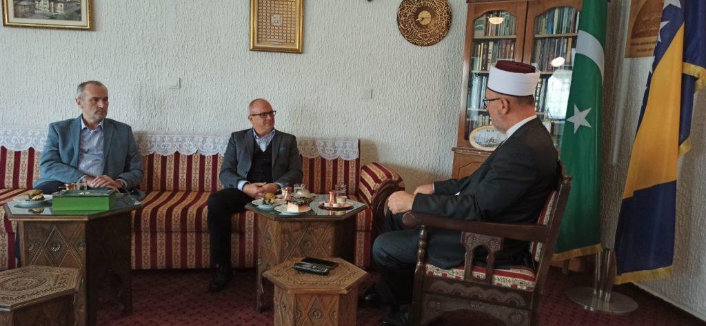 (FOTO) Muftija travnički u nastupnu posjetu primio načelnika Općine Travnik