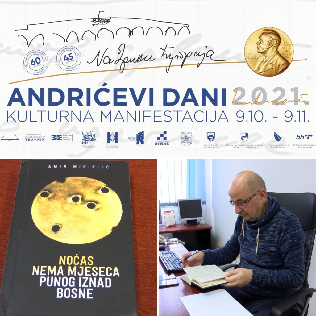 """U petak promocija romana """"Noćas nema mjeseca punog iznad Bosne"""""""